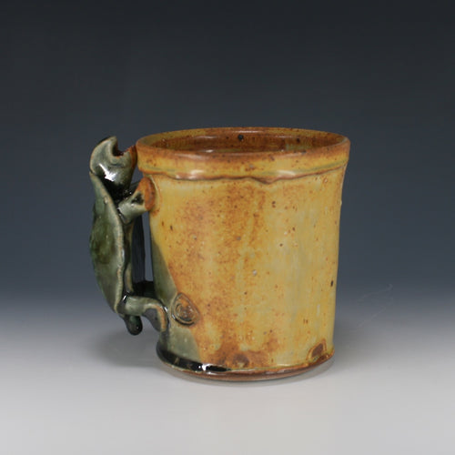 Yellow And Green Turtle Mug