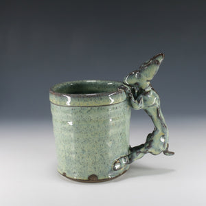 Blue Rabbit Mug