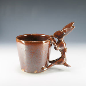 Rabbit Mug (BROWN!)