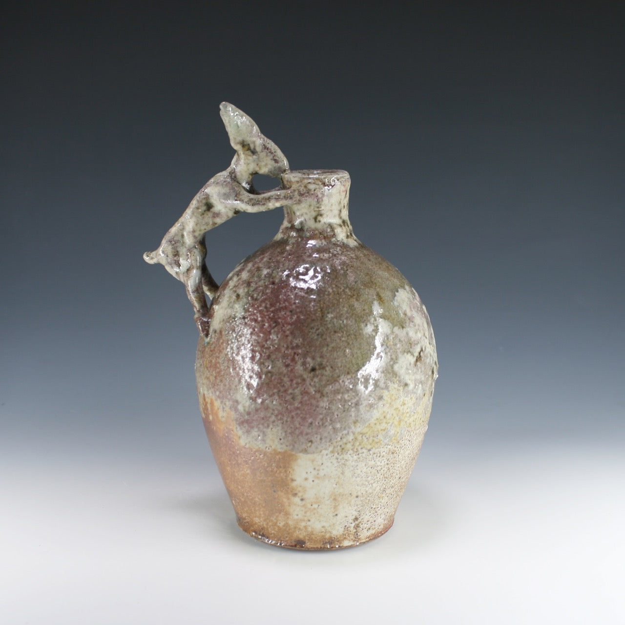 Soda Fired Rabbit Bottle
