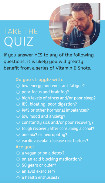 vitamin b deficiency quiz