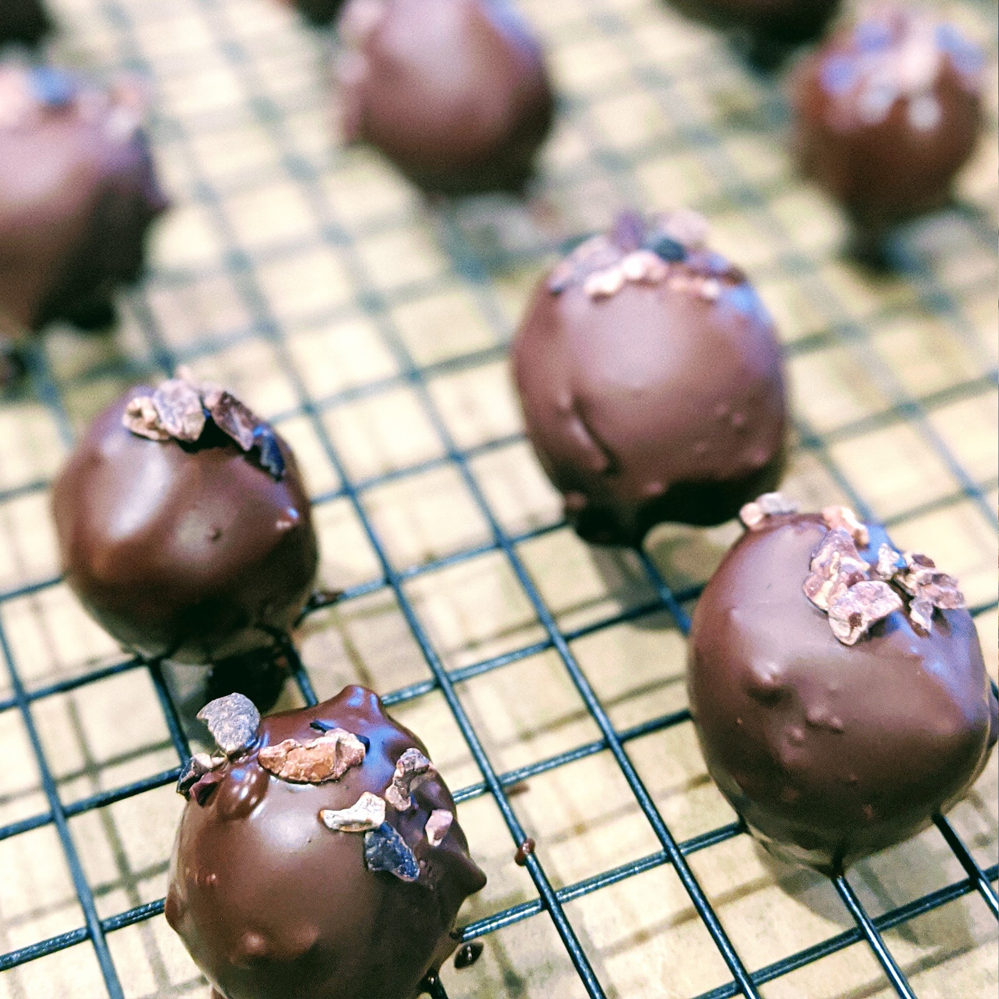 Garbanzo Cookie Dough Truffle
