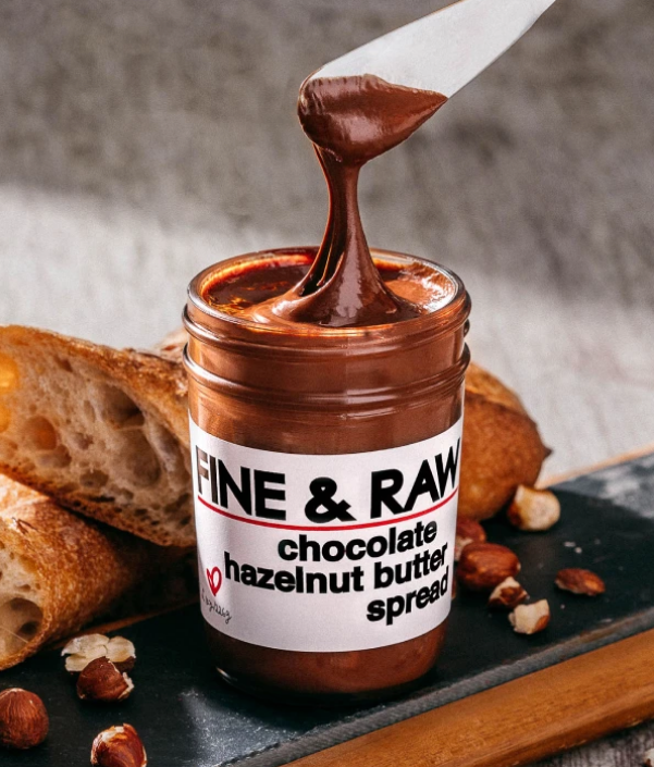 Milk Chocolate Hazelnut Spread (Dairy-free)