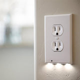 Plug Cover with LED Sensor Night Light