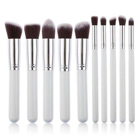 10 Piece Kabuki Brush Set