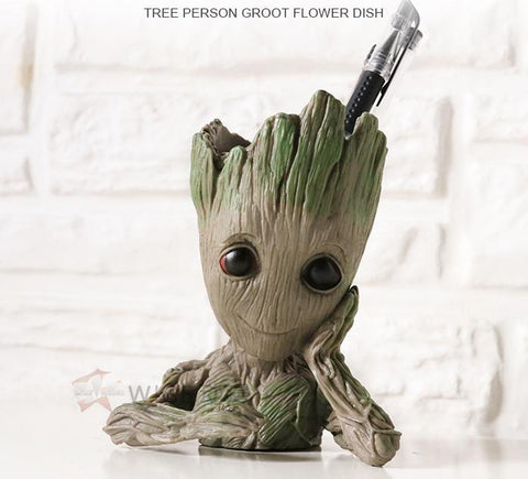 Cute baby Groot Flowerpot pencil holder