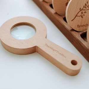 Wooden Magnifying Glass - Individual