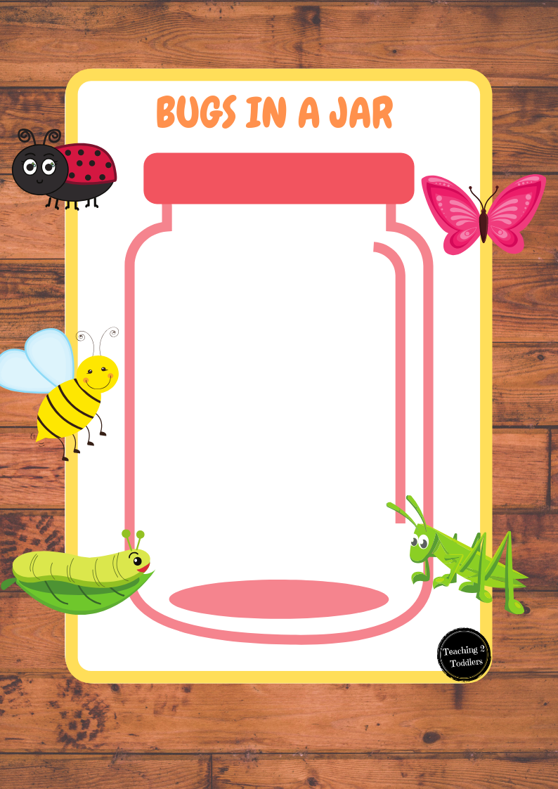 Bugs in a Jar Counting Game