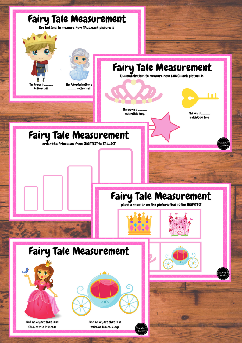 Fairy Tale Measurement Pack