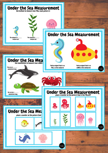 Under the Sea Measurement Pack