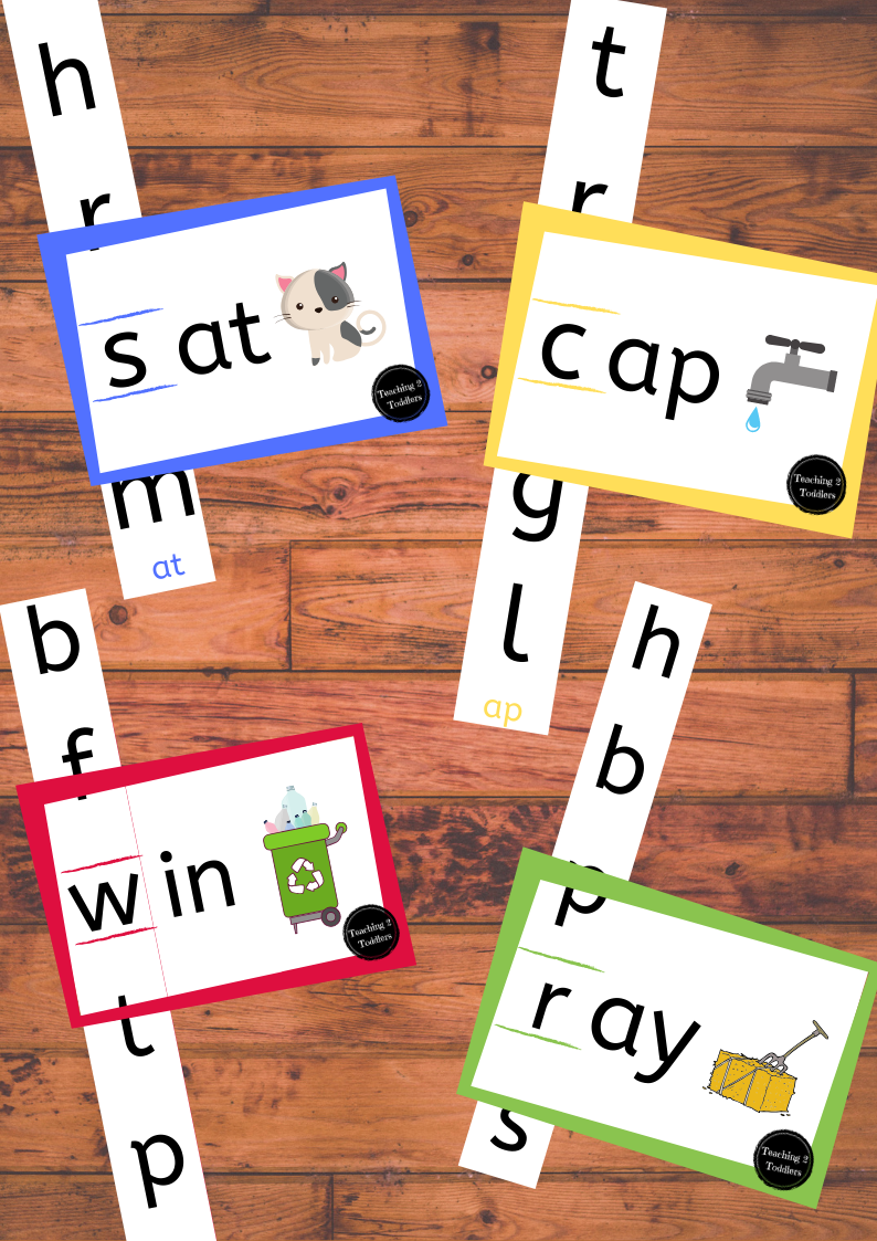 CVC Word Family Sliders