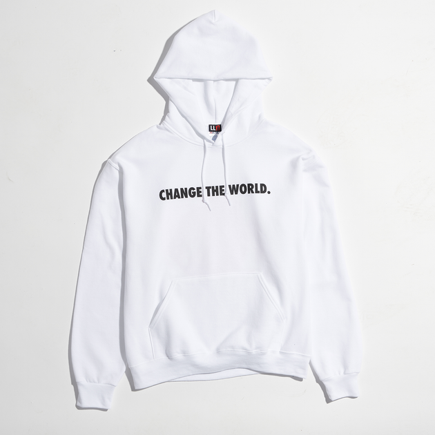 Live Life Nice Change The World Pullover Hoodie