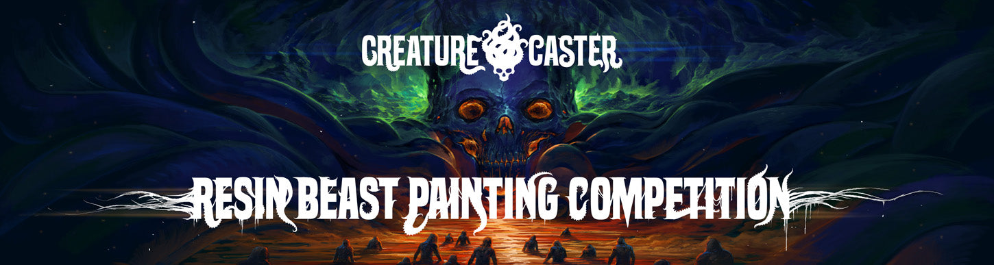 Resin Beast Painting Competition