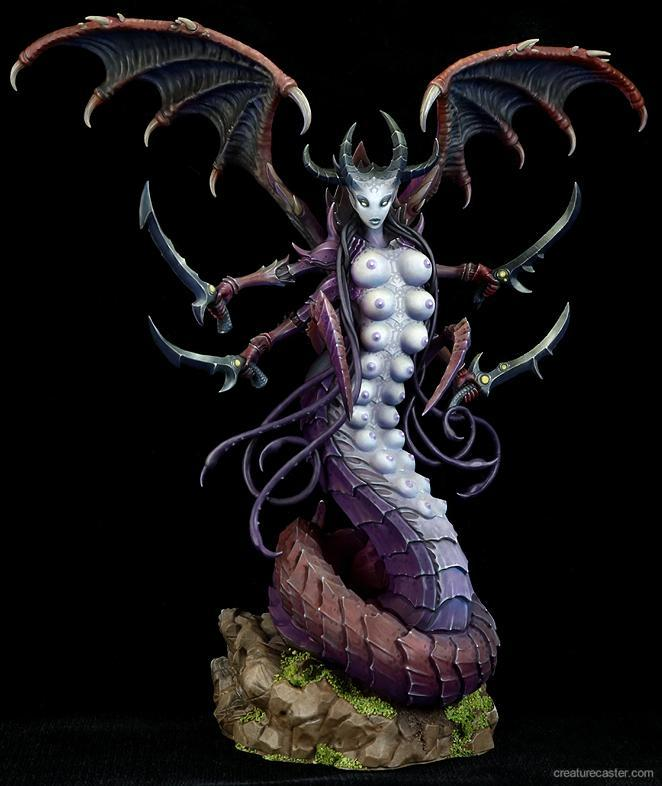lady of depravity creature caster