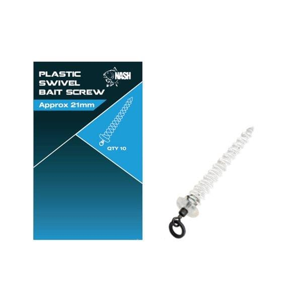 Nash Plastic Swivel Bait Screw 21mm