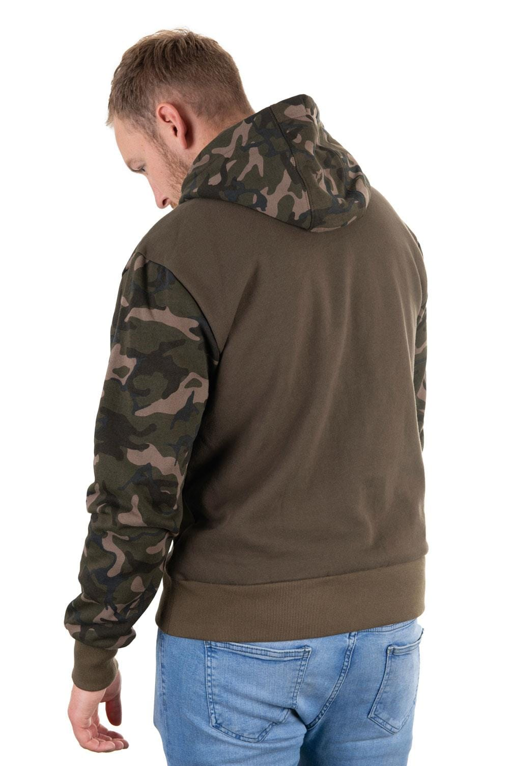 FOX Khaki/Camo Hoody - Medium
