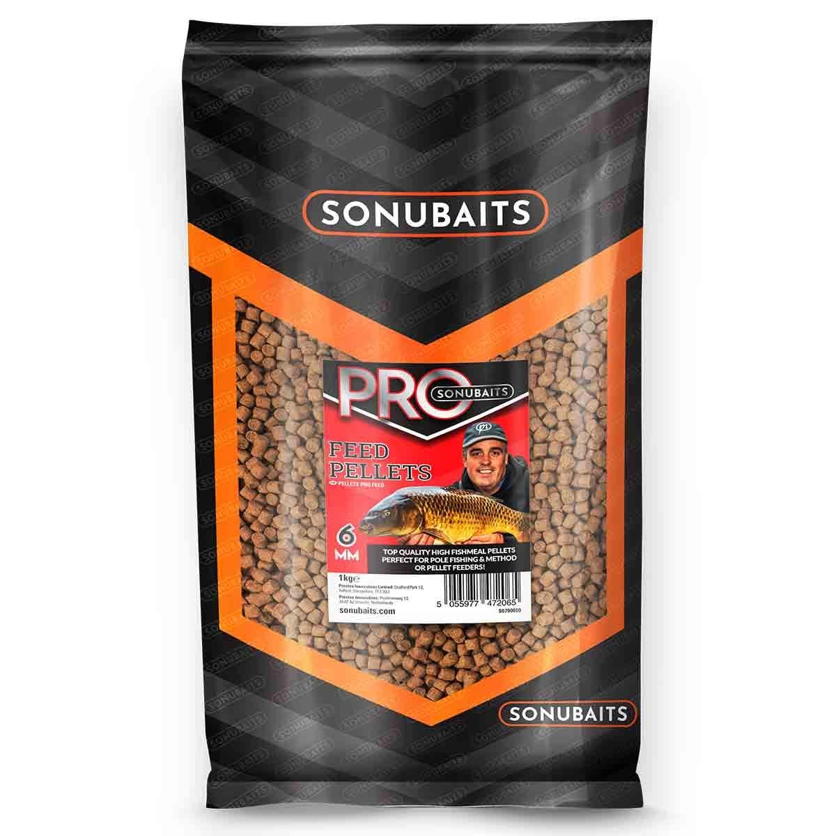 Sonubaits Pro Feed Pellets - 6mm
