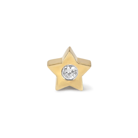 Small Diamond Star Charm