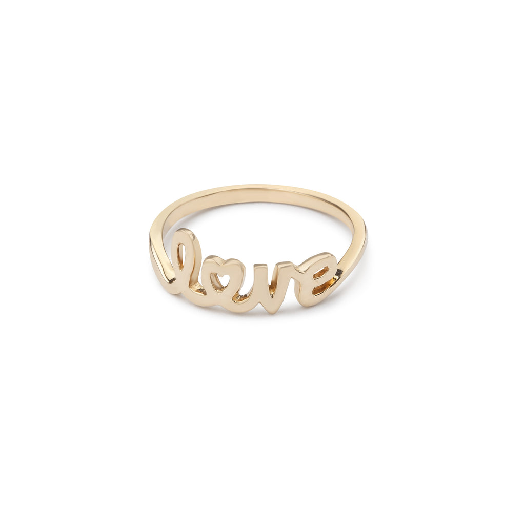 Amor 14K Gold Love Ring