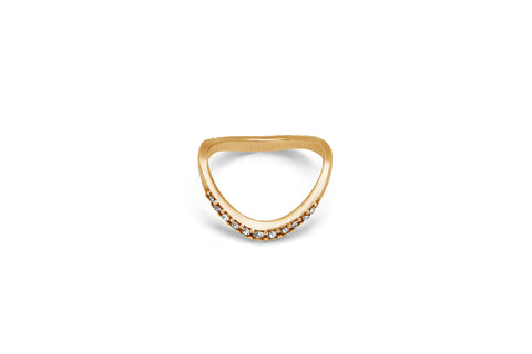Dante Pave Stackable Eternity Band