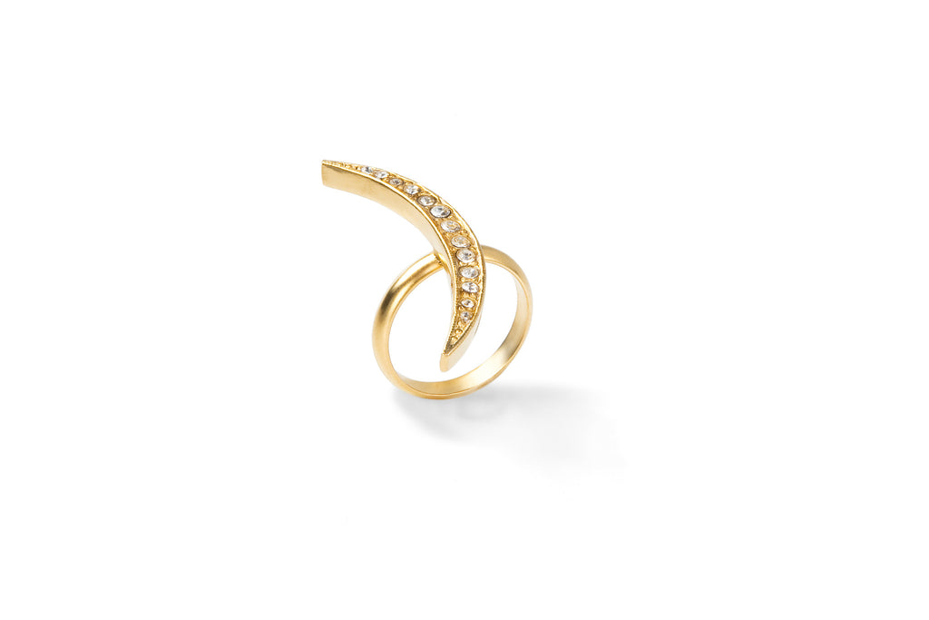 Xander Crescent Ring