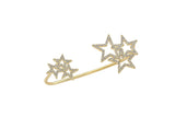 Phinx Pave Star Palm Cuff