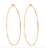 Classic Gold Vermeil Hoops
