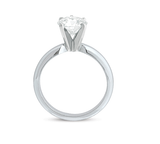 Round Cut Classic Solitaire Engagement Ring