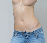 Beaded Body Chain