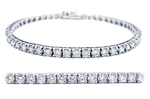 14k Gold Diamond Tennis Bracelet
