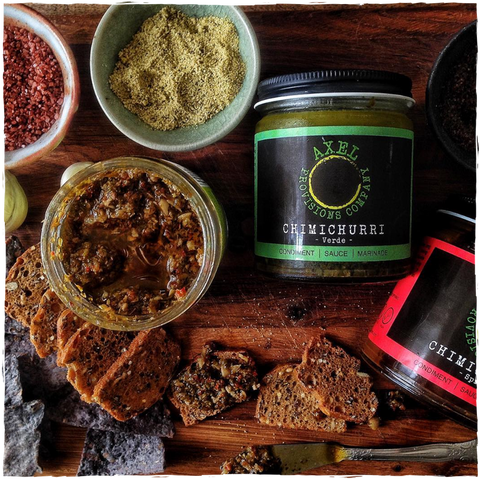 Spicy Chimichurri Sauce by Axel Provisions