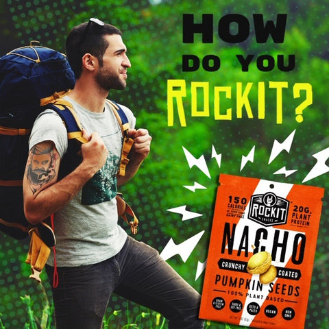RockIt Snacks Nacho Hiking