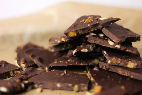 4 Ingredient Chocolate Cereal Bark