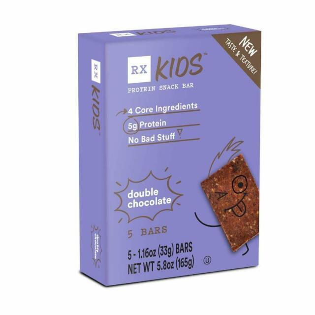 RX Kids Double Chocolate (box of 5 bars) by RXBAR