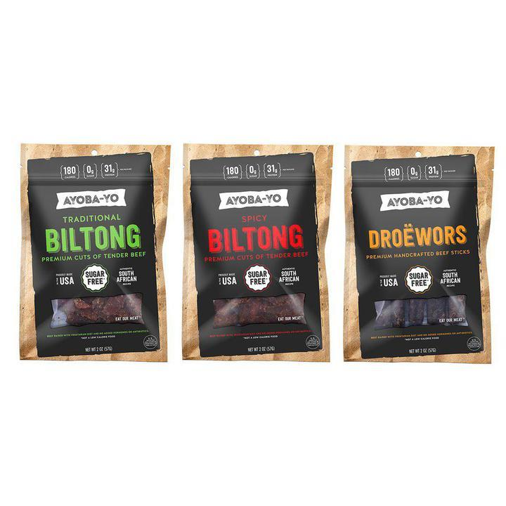 Spicy Beef Biltong by Ayoba-Yo