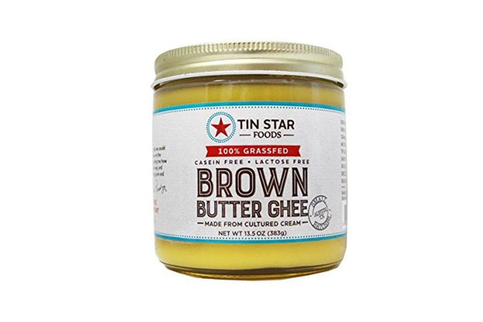 Cultured Brown Butter Ghee by Tin Star Foods - 13.5 oz