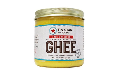 Cultured Grass-Fed Ghee by Tin Star Foods - 13.5 oz