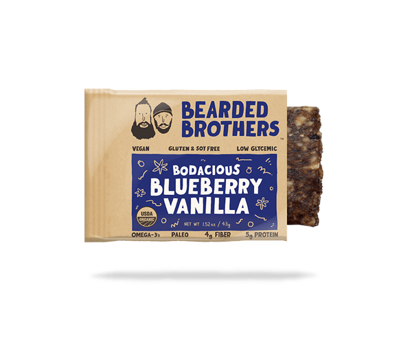 Bodacious Blueberry Vanilla Bar by Bearded Brothers