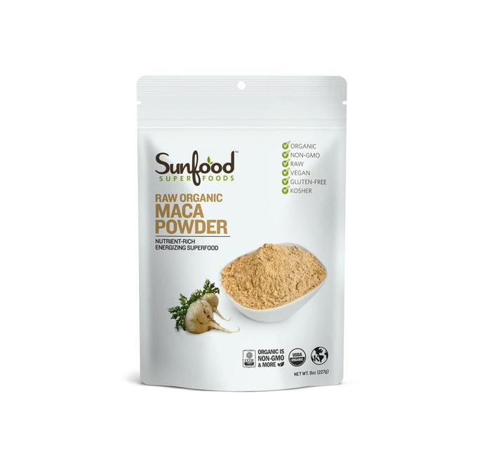 Raw Organic Maca Powder by Sunfood