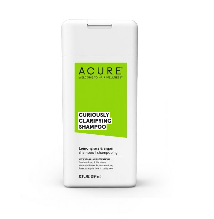 Curiously Clarifying Lemongrass and Argan Shampoo by ACURE