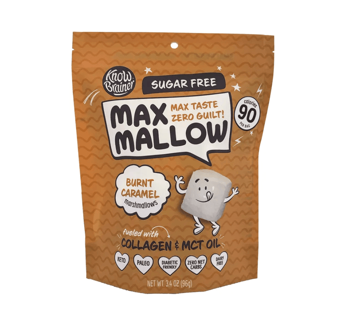 Burnt Caramel Max Mallow 3.4 oz by Know Brainer