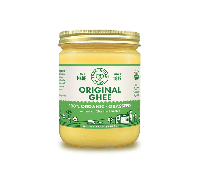 Grass-Fed Organic Ghee by Pure Indian Foods