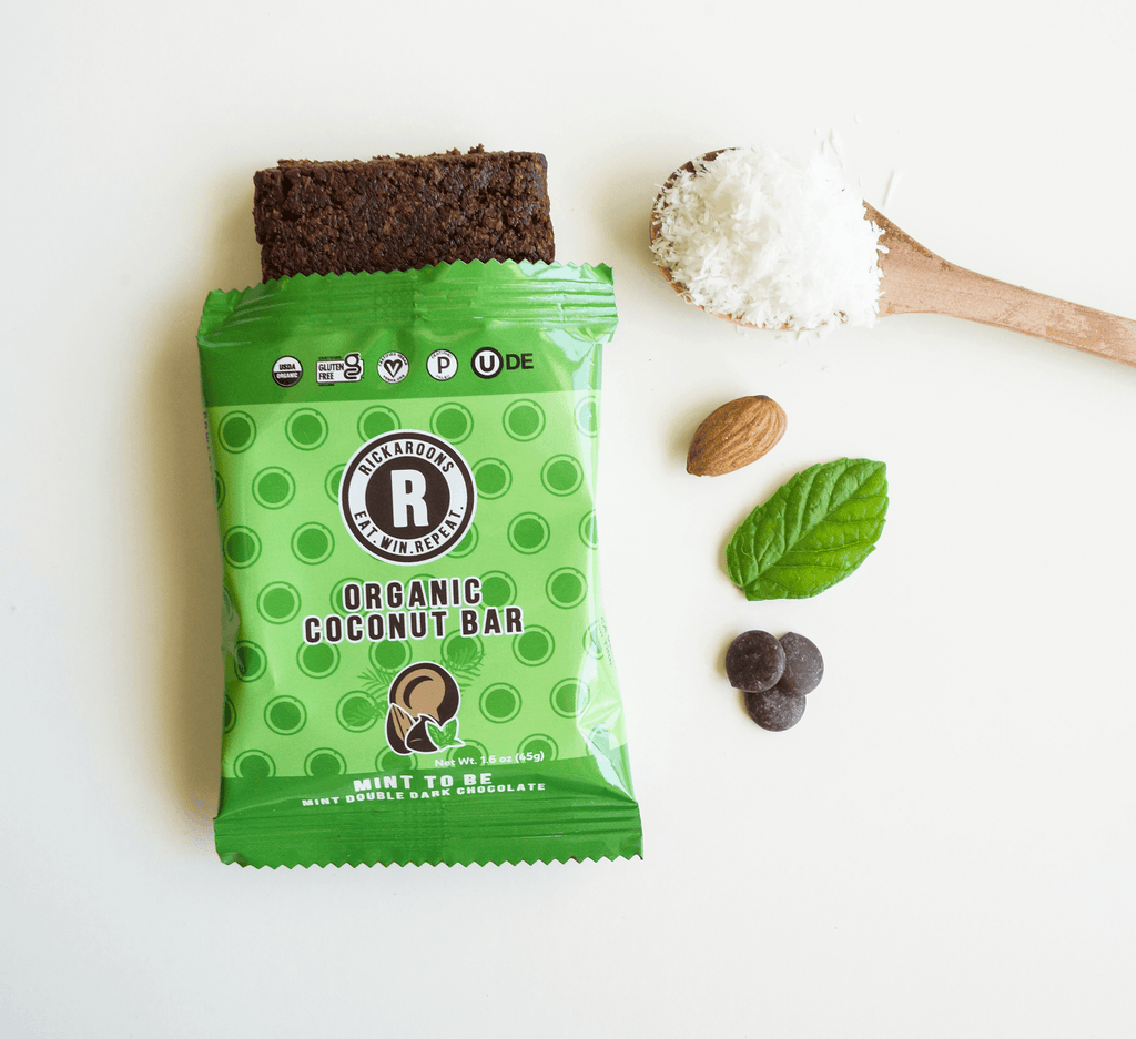 Mint To Be, Coconut Energy Bar by Rickaroons