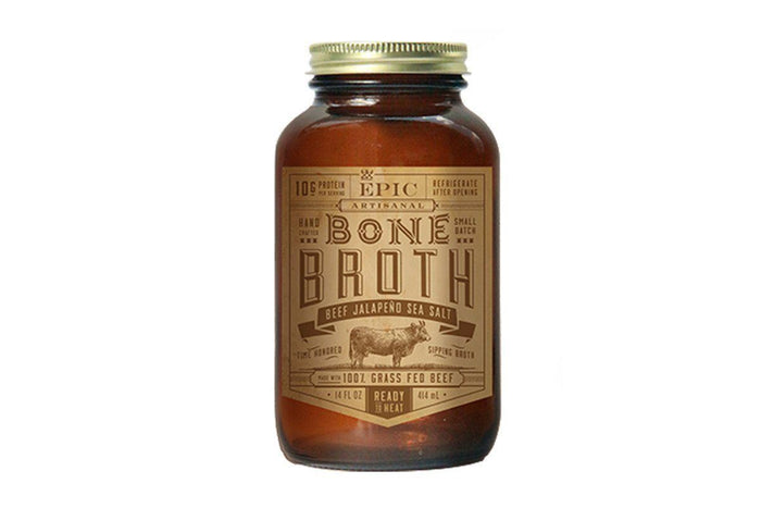 Beef Jalapeño Bone Broth by EPIC