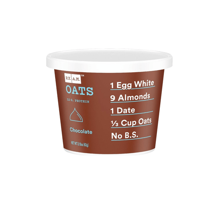 Chocolate Oats Cup with 12g of Protein by RXBAR