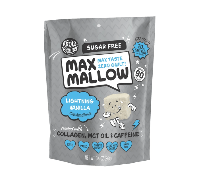 Lightning Vanilla Max Mallow 3.4 oz by Know Brainer
