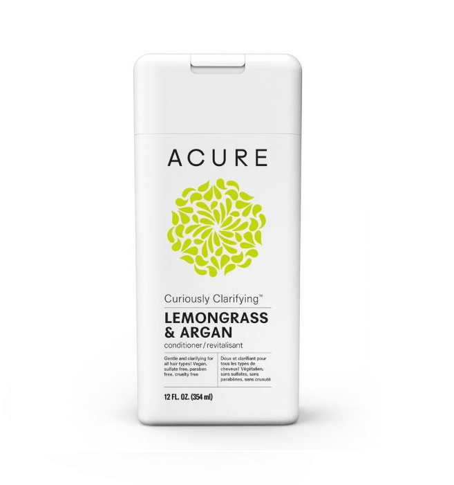 Curiously Clarifying Lemongrass and Argan Conditioner by ACURE