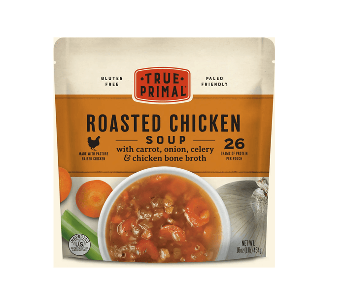 Roasted Chicken Soup by True Primal