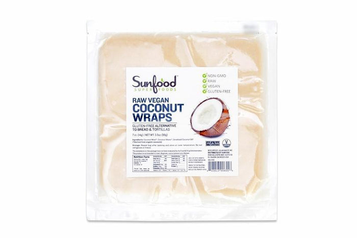 Raw Coconut Wraps by Sunfood