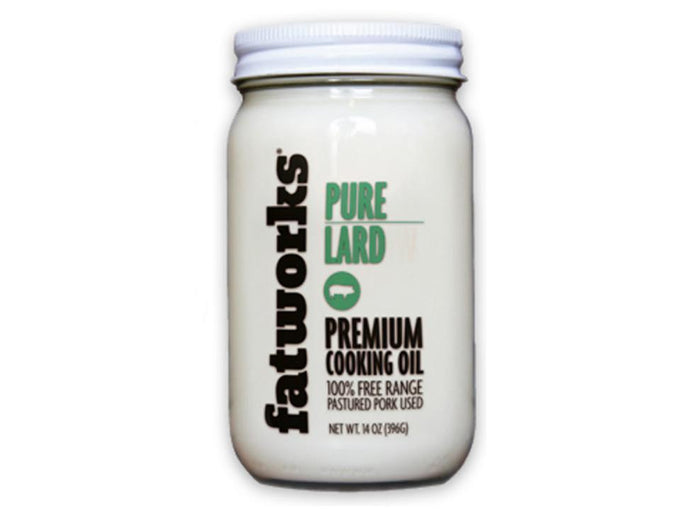100% Pastured Pure Pork Lard by FatWorks